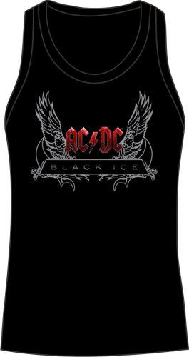 AC DC  Black Ice - Wings - Atléta (Női pólók) 7bf4c660ea